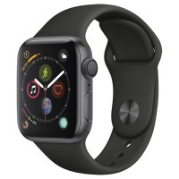 Часы Apple Watch Series 4 GPS 40mm Aluminum Case SpaceGrey Al/Black Sport Band - App Ekb - Купить Екатеринбурге iPhone, Гаджеты