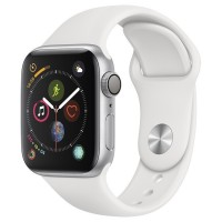 Часы Apple Watch Series 4 GPS 44mm Aluminum Case Silver Al/White Sport Band - App Ekb - Купить Екатеринбурге iPhone, Гаджеты